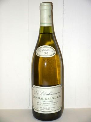 Grands vins Chablis Chablis Grand Cru Les Preuses 1987 La Chablisienne