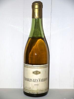 Vins de collection Chablis Chablis Les Vaillons 1962