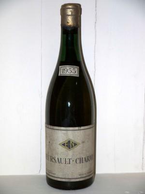 Millesime prestige Meursault Meursault-Charmes 1955