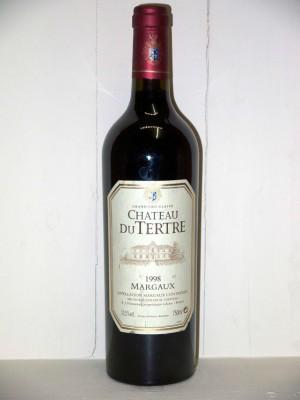 Grands vins Listrac-Médoc - Moulis-en-Médoc Château du Tertre 1998