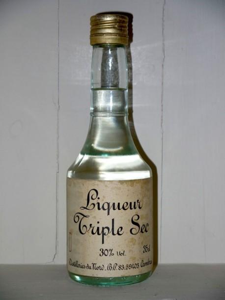 Liqueur triple sec Distilleries du nord présumé des années 70