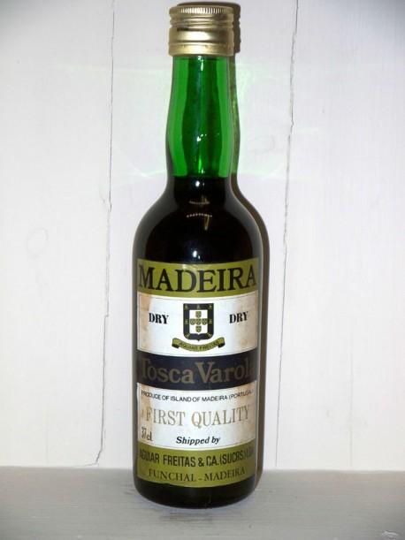 Madeira dry Toscavarola first quality présumé des années 70