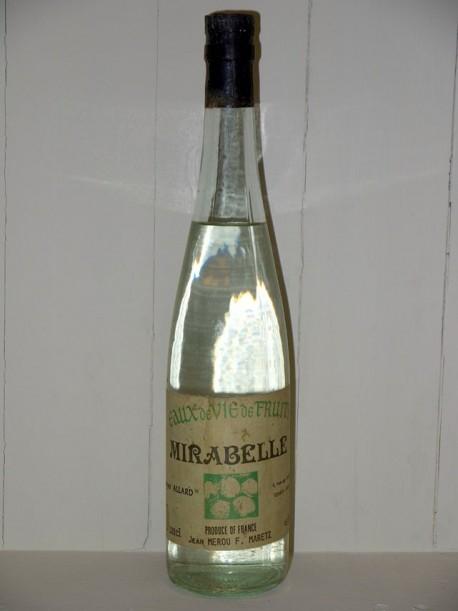 Eaux de vie de fruits Mirabelle Georges Allard présumée des années70/80
