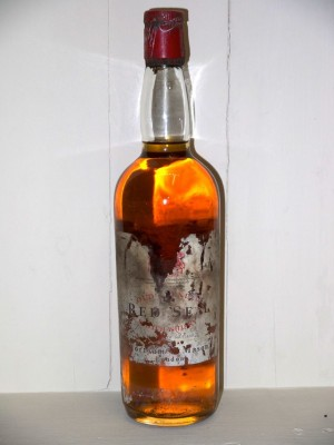 Grand Whisky Whisky old Blended red seal Fortnum and Mason présumé des années 70