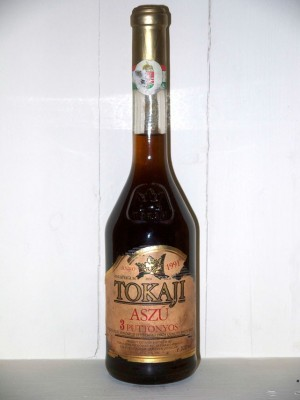 Vins grands crus Hongrie Tokaji Kereskedohaz Aszu 3 Puttonyos 1991