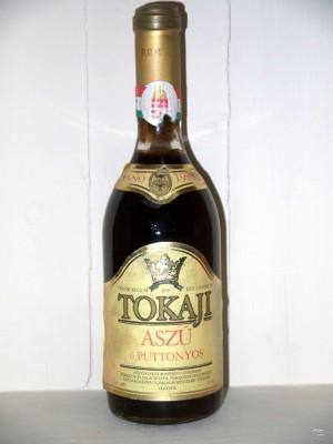 Millesime prestige Hongrie Tokaji Kereskedohaz Aszu 6 Puttonyos 1988