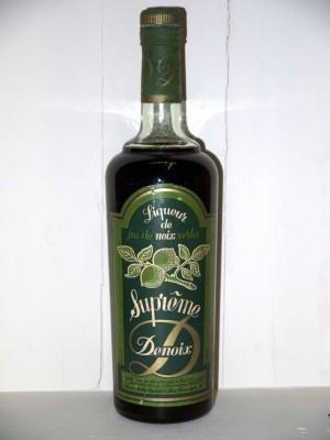 Liqueur de jus de noix vertes suprême Maison Denoix présumé années 70