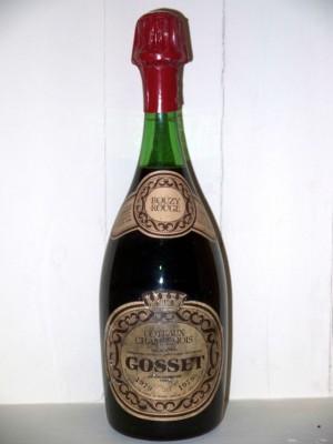 Bouzy rouge Coteaux Champenois 1979 Maison Gosset