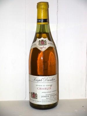 Millesime prestige Chablis Chablis 1980 Domaine Joseph Drouhin
