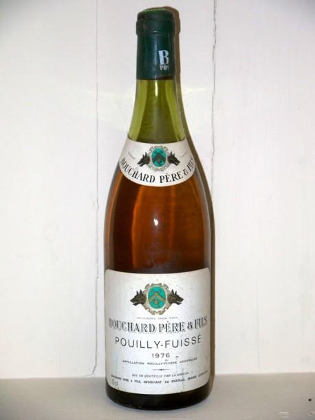 Pouilly-Fuissé 1976 Maison Bouchard Père et fils