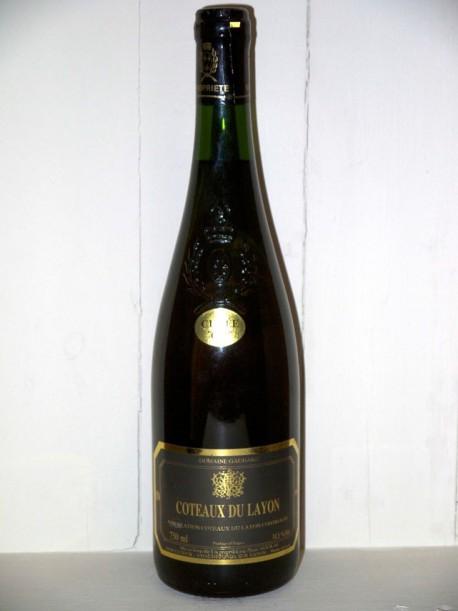 """Coteaux du Layon """"cuvée or"""" Domaine Gaudard 1989"""