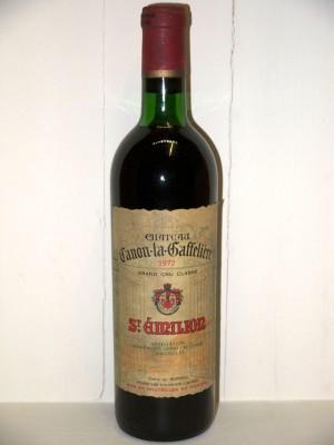 Grands vins Saint-Julien Château Canon-la-Gaffelière 1972