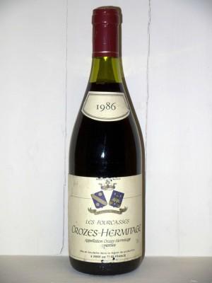 Crozes-Hermitage les fourcasses 1986