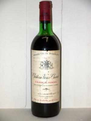Grands vins Pomerol - Lalande de Pomerol Château Vieux Chevrol 1975