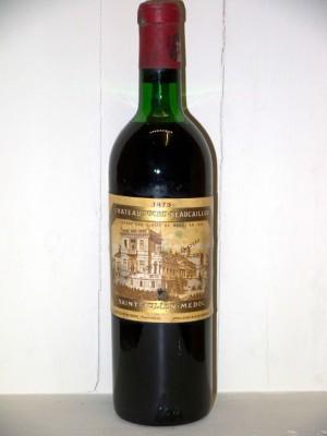 Grands crus Autres appellations de Bordeaux Château Ducru-Beaucaillou 1973
