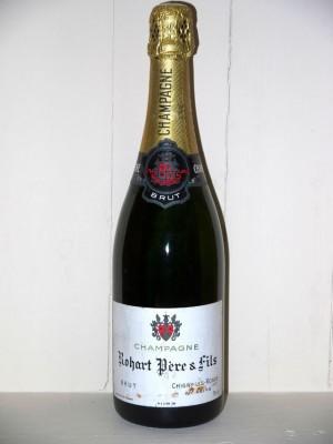 Champagne brut Rohart Père et fils présumé années 70