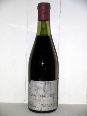 Grands crus Gigondas Côtes du Rhône-Gigondas 1964 Berard Père et fils