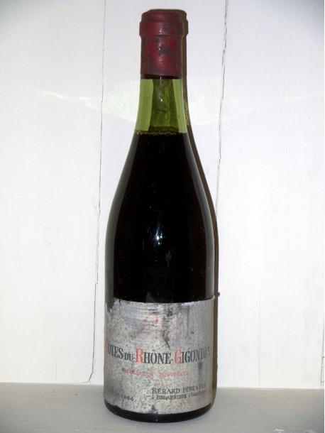 Côtes du Rhône-Gigondas 1964 Berard Père et fils