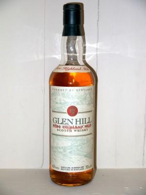 Glen Hill pure highland malt 12 ans d'âge années 90