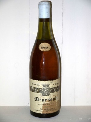 Meursault 1959 Domaine Rebillet