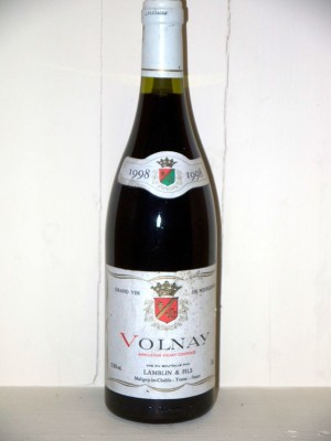 Vins de collection Volnay Volnay 1998 Lamblinet fils