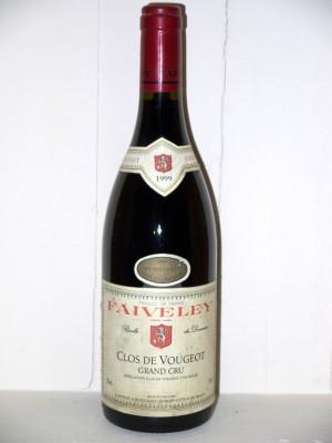 Vins de collection Clos Vougeot Clos de Vougeot Grand Cru 1999 Domaine Faiveley