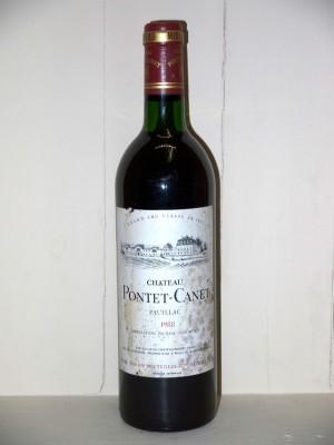 Château Pontet Canet 1988