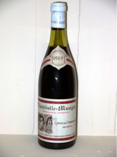 Chambolle-Musigny 1969 Caves des Cordeliers