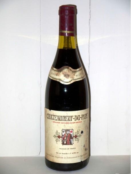 Chateauneuf du Pape 1978 union vinicole