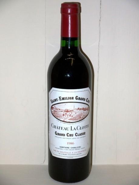 Château La Clotte 1986