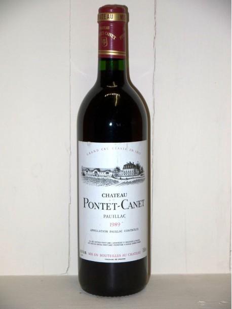 Château Pontet Canet 1989