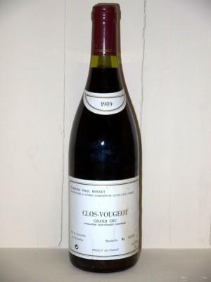 Clos Vougeot Grand Cru 1989 Domaine Paul Misset