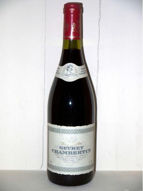 """Gevrey-Chambertin """"Les girolles"""" 1998 Maison JL Quinson"""