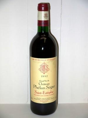 Grands vins Pomerol - Lalande de Pomerol Château Phélan Ségur 1992