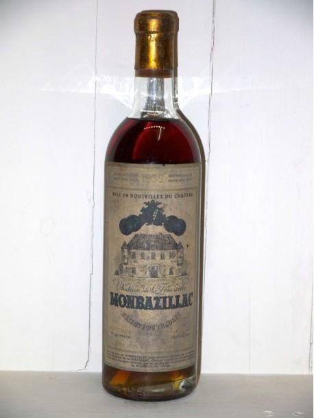 """Château de la Fonvieille 1939 """"Réserve du Theulet"""" Monbazillac"""