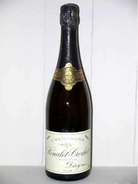 Champagne Roualet-Crochet brut millésimé 1964