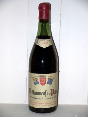 Chateauneuf du Pape 1959 Société des grands vins des Côtes du Rhône et de Provence