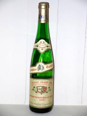 Gewurtraminer Clos zisser vendanges tardives 1983 Domaine Klipfel