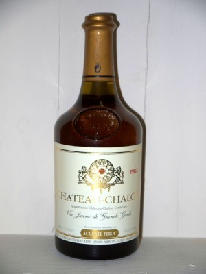 Château Chalon 1983 Maison Auguste Pirou