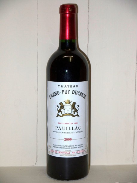Château Grand Puy Ducasse 2000