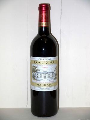Grands crus Margaux Château Dauzac 1998