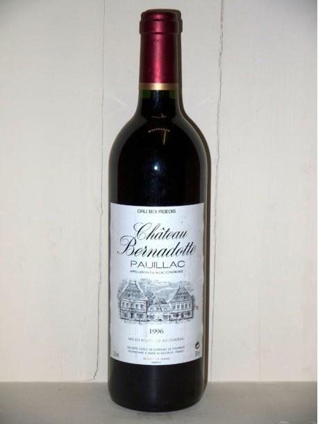 Château Bernadotte 1996