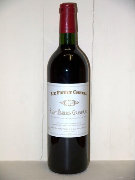 Château Cheval Blanc le petit cheval 1998