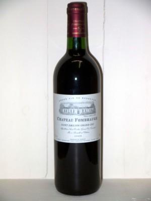 Grands crus Autres appellations de Bordeaux Château Fombrauge 2000