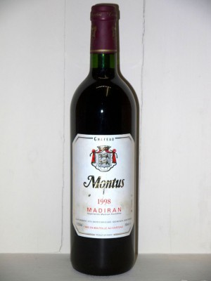 Vins de collection South West Château Montus 1998