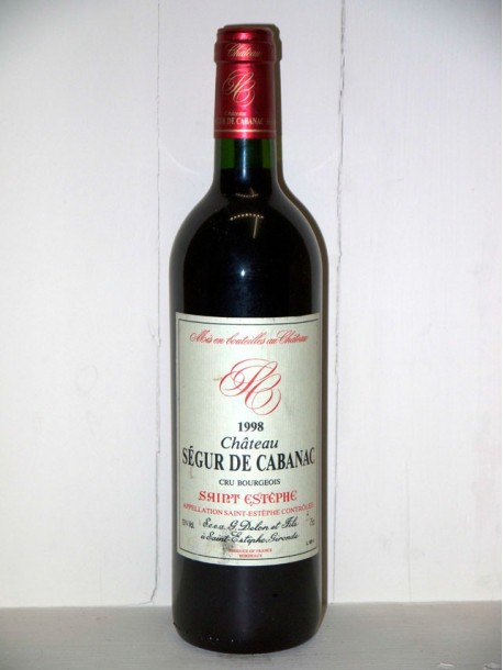 Château Ségur de Cabanac 1998