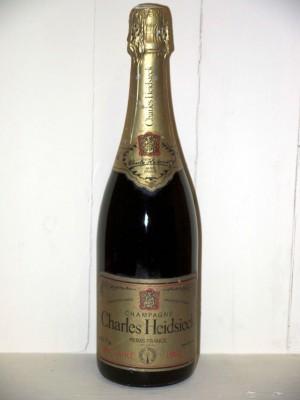 Grand Champagne Charles Heidsieck brut rosé 1982