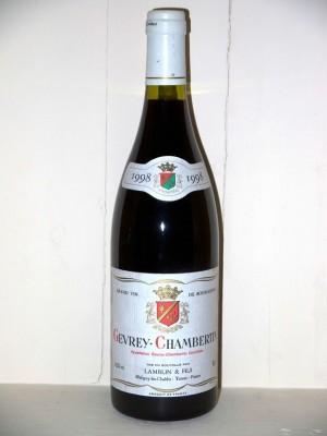 Gevrey-Chambertin 1998 Domaine Lamblin et fils