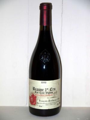 """Grands crus Autres appellations de Bourgogne Beaune 1er cru """"Les cent vignes"""" 1996 Domaine François Protheau"""