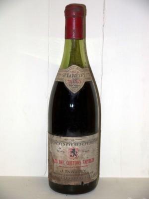 Clos des Cortons 1955 Domaine Faiveley